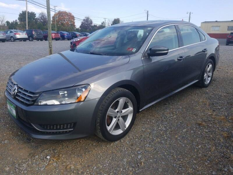 2013 Volkswagen Passat for sale at Cascade Used Auto Sales in Martinsburg WV
