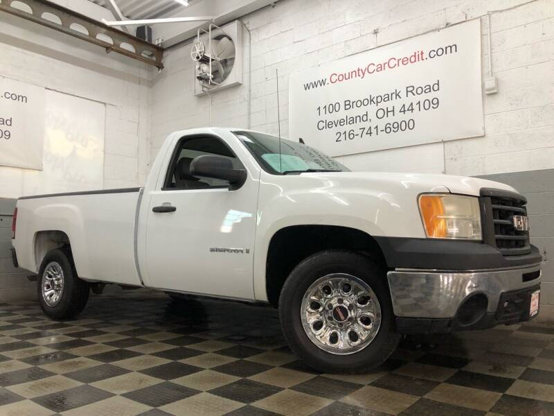 2009 GMC Sierra 1500 for sale at County Car Credit in Cleveland OH