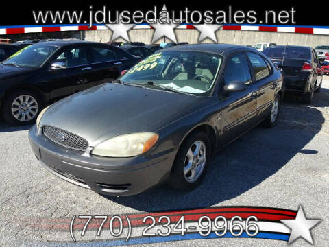 2004 Ford Taurus for sale at J D USED AUTO SALES INC in Doraville GA