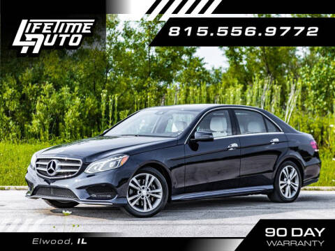 2016 Mercedes-Benz E-Class for sale at Lifetime Auto in Elwood IL