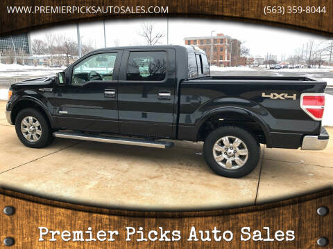 2011 Ford F-150 for sale at Premier Picks Auto Sales in Bettendorf IA
