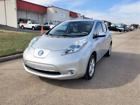 2012 Nissan LEAF for sale at Image Auto Sales in Dallas TX