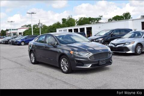 2020 Ford Fusion Hybrid for sale at BOB ROHRMAN FORT WAYNE TOYOTA in Fort Wayne IN