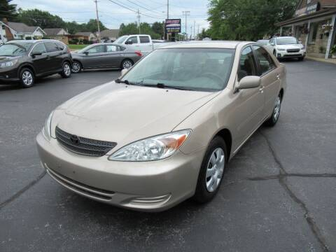 2002 Toyota Camry for sale at Lake County Auto Sales in Painesville OH