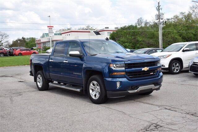 2017 Chevrolet Silverado 1500 for sale at BOB ROHRMAN FORT WAYNE TOYOTA in Fort Wayne IN
