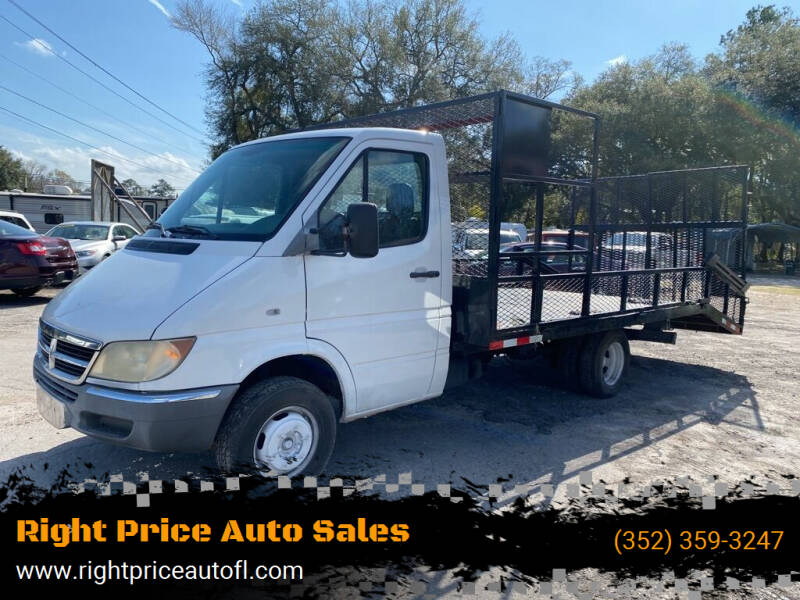 2004 Dodge Sprinter Cab Chassis for sale at Right Price Auto Sales-Gainesville in Gainesville FL