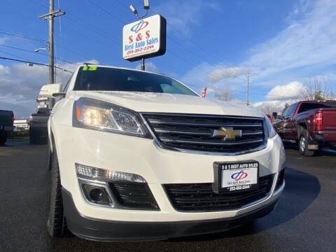 2013 Chevrolet Traverse for sale at S&S Best Auto Sales LLC in Auburn WA