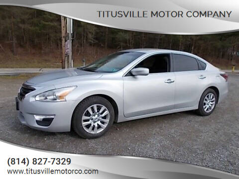 2015 Nissan Altima for sale at Titusville Motor Company in Titusville PA