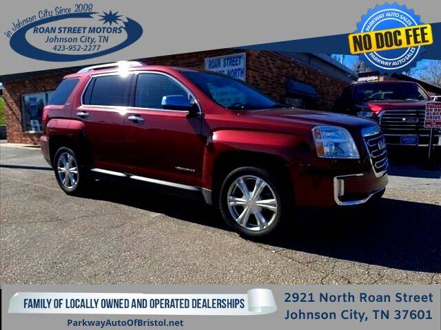2016 GMC Terrain for sale at PARKWAY AUTO SALES OF BRISTOL - Roan Street Motors in Johnson City TN