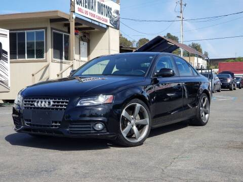 2011 Audi A4 for sale at Gateway Motors in Hayward CA
