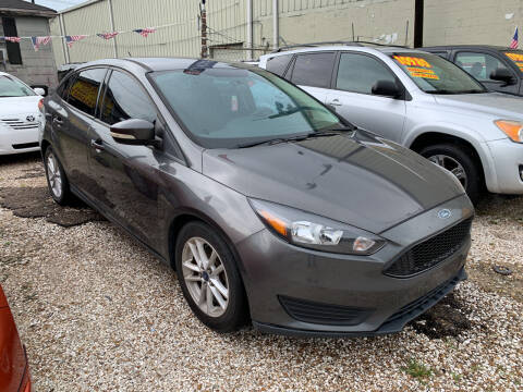 2015 Ford Focus for sale at CHEAPIE AUTO SALES INC in Metairie LA