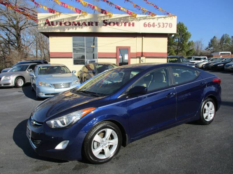 2013 Hyundai Elantra for sale at Automart South in Alabaster AL