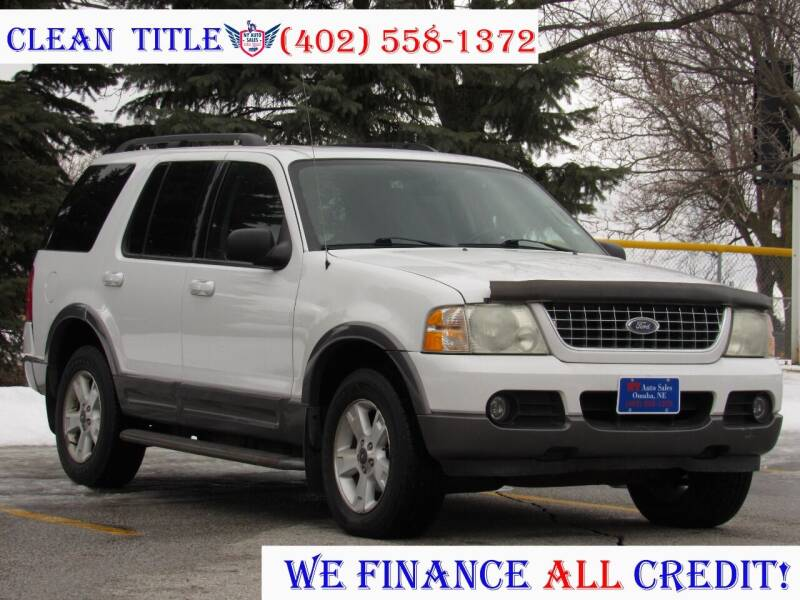2003 Ford Explorer for sale at NY AUTO SALES in Omaha NE
