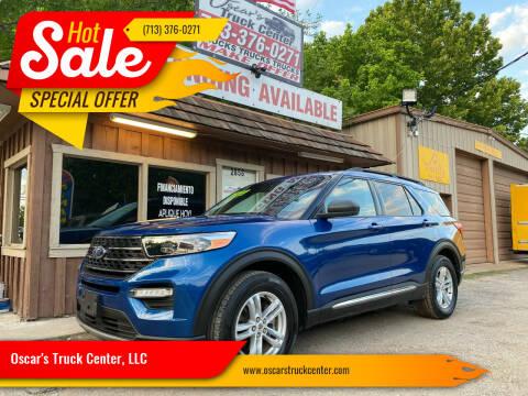 2020 Ford Explorer for sale at Oscar's Truck Center, LLC in Houston TX