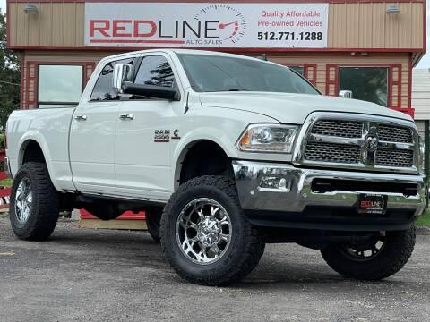 2016 RAM Ram Pickup 2500 for sale at REDLINE AUTO SALES LLC in Cedar Creek TX