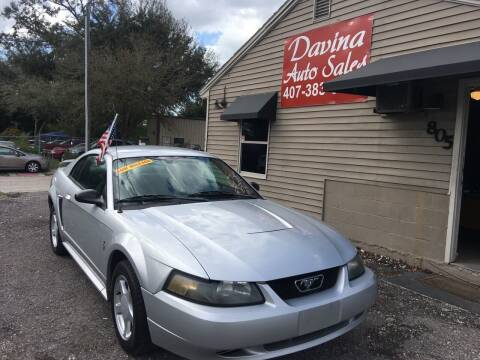 2003 Ford Mustang for sale at DAVINA AUTO SALES in Casselberry FL