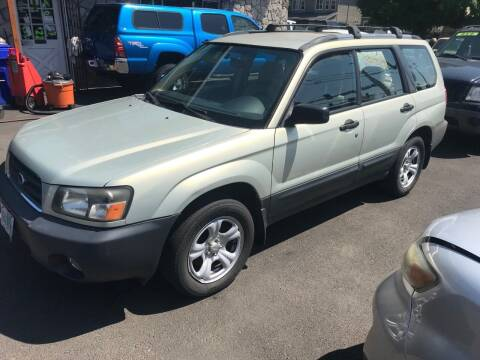 2005 Subaru Forester for sale at Chuck Wise Motors in Portland OR