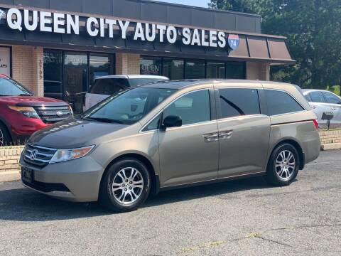 2013 Honda Odyssey for sale at Queen City Auto Sales in Charlotte NC