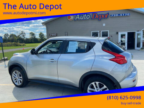 2011 Nissan JUKE for sale at The Auto Depot in Mount Morris MI