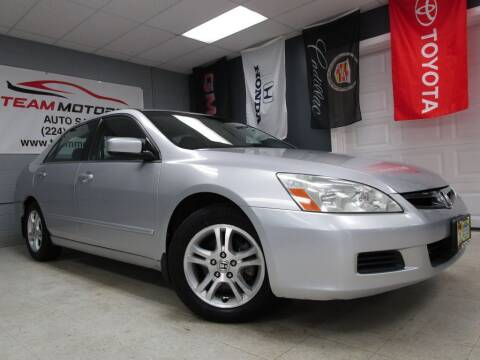 2006 Honda Accord for sale at TEAM MOTORS LLC in East Dundee IL
