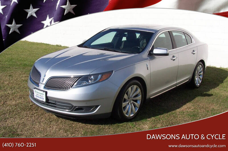 2013 Lincoln MKS for sale at Dawsons Auto & Cycle in Glen Burnie MD