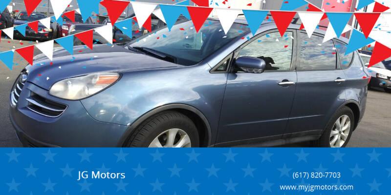 2006 Subaru B9 Tribeca for sale at JG Motors in Worcester MA