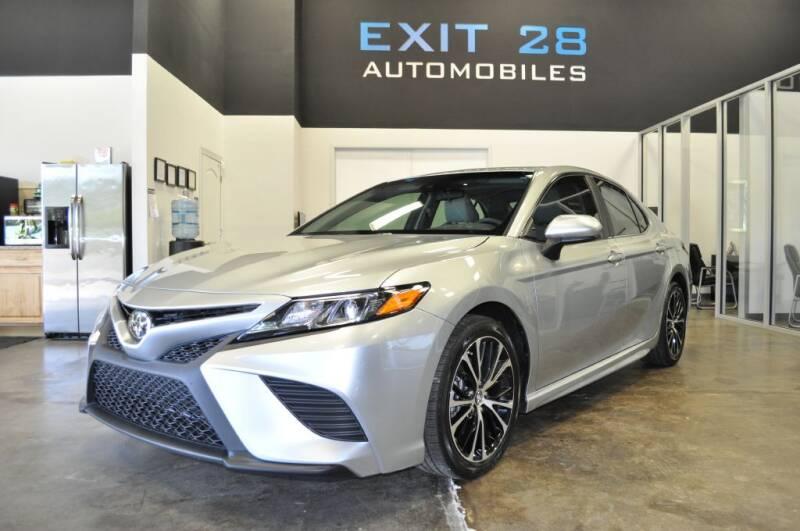 2018 Toyota Camry for sale at Exit 28 Auto Center LLC in Cornelius NC