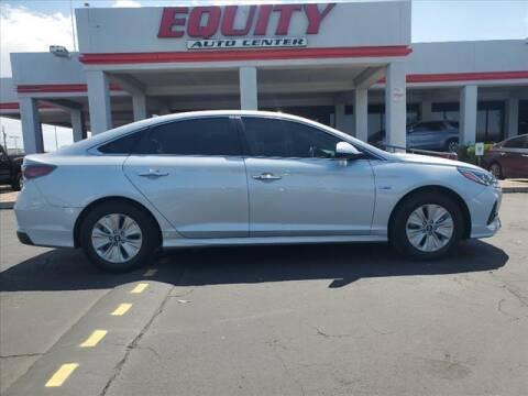 2019 Hyundai Sonata Hybrid for sale at EQUITY AUTO CENTER in Phoenix AZ