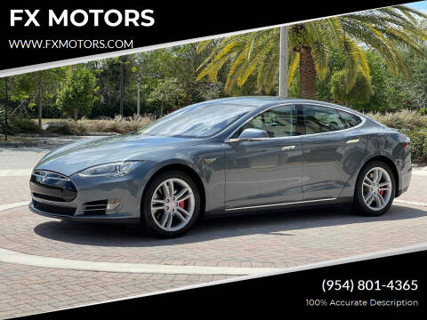 2014 Tesla Model S for sale at FX MOTORS in Margate FL
