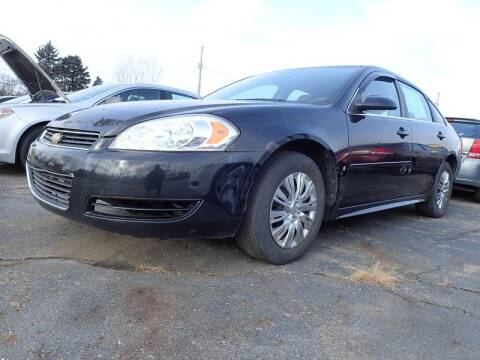 2010 Chevrolet Impala for sale at RPM AUTO SALES in Lansing MI