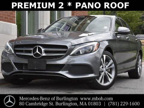 2017 Mercedes-Benz C-Class for sale at Mercedes Benz of Burlington in Burlington MA
