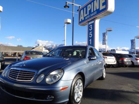 2003 Mercedes-Benz E-Class for sale at Alpine Auto Sales in Salt Lake City UT