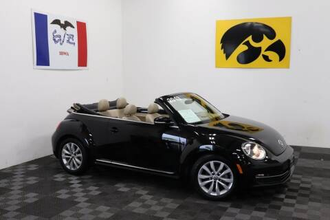 2013 Volkswagen Beetle Convertible for sale at Carousel Auto Group in Iowa City IA