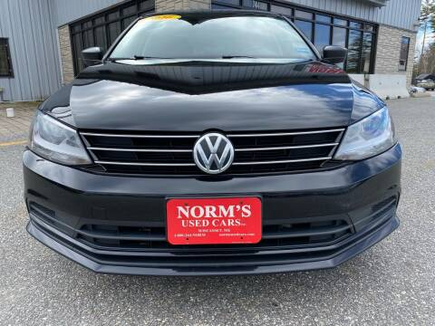 2016 Volkswagen Jetta for sale at NORM'S USED CARS INC in Wiscasset ME