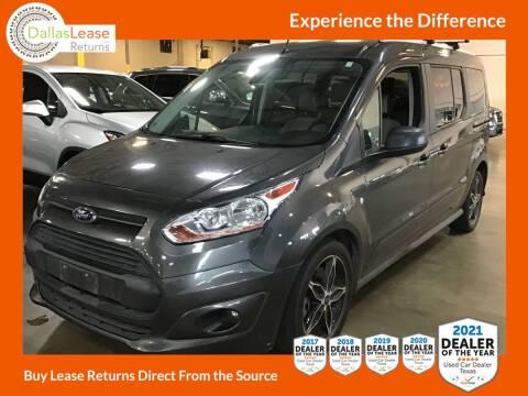 2018 Ford Transit Connect Wagon for sale at Dallas Auto Finance in Dallas TX