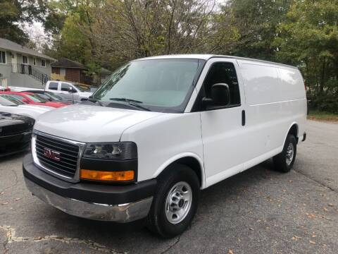 2019 GMC Savana Cargo for sale at RC Auto Brokers, LLC in Marietta GA