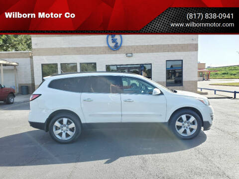 2014 Chevrolet Traverse for sale at Wilborn Motor Co in Fort Worth TX
