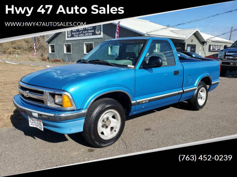 1995 Chevrolet S-10 for sale at Hwy 47 Auto Sales in Saint Francis MN