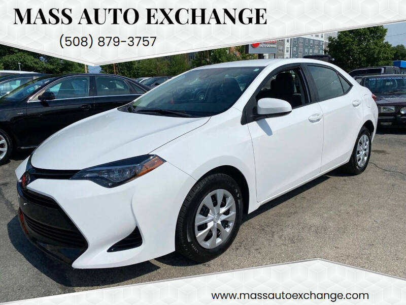 2018 Toyota Corolla for sale at Mass Auto Exchange in Framingham MA