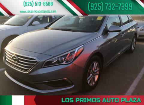 2017 Hyundai Sonata for sale at Los Primos Auto Plaza in Brentwood CA