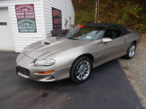 2000 Chevrolet Camaro for sale at Dansville Radiator in Dansville NY