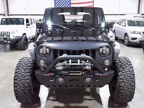 2015 Jeep Wrangler for sale at Texas Motor Sport in Houston TX