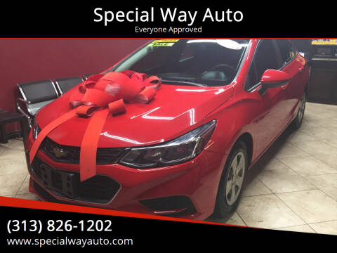 2016 Chevrolet Cruze for sale at Special Way Auto in Hamtramck MI
