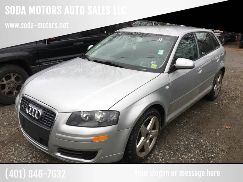 2006 Audi A3 for sale at SODA MOTORS AUTO SALES LLC in Newport RI
