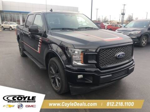 2019 Ford F-150 for sale at COYLE GM - COYLE NISSAN in Clarksville IN