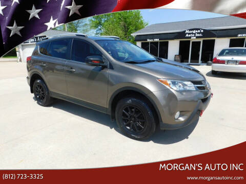 2015 Toyota RAV4 for sale at Morgan's Auto Inc in Paoli IN