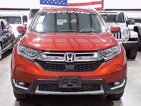 2018 Honda CR-V for sale at Texas Motor Sport in Houston TX