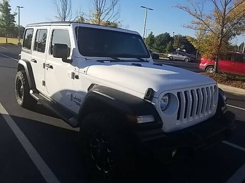 2020 Jeep Wrangler Unlimited for sale at Southern Auto Solutions - Lou Sobh Kia in Marietta GA