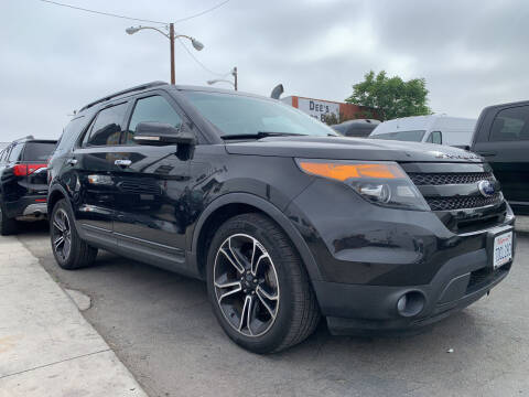 2014 Ford Explorer for sale at Best Buy Quality Cars in Bellflower CA