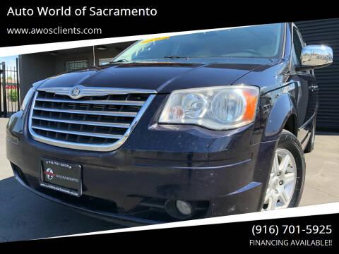 2010 Chrysler Town and Country for sale at Auto World of Sacramento Stockton Blvd in Sacramento CA